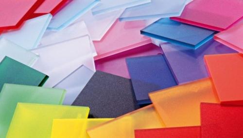 Разноцветное акриловое стекло