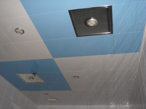 Алюминиевые панели для кассетных потолков с закрытой системой