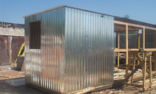 Блок-контейнер собственной сборки