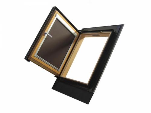 Мансардные окна с боковой поворотной осью