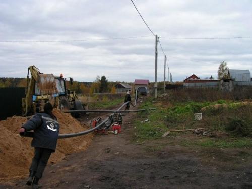Центральное водоснабжение загородного дома
