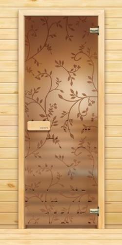 Дверь в парную сауны