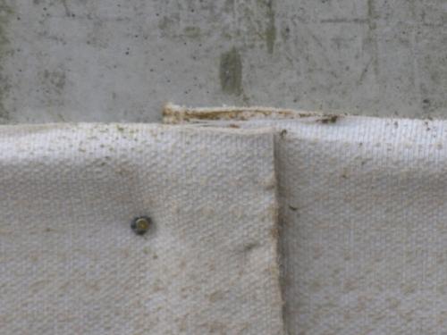 Экранная гидроизоляция фундамента бентонитовыми матами