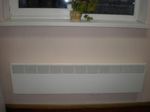Отопление частного дома с помощью электроконвекторов