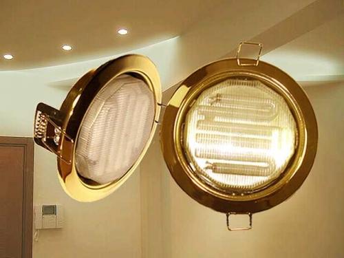 Светильники для натяжных потолков энергосберегающие