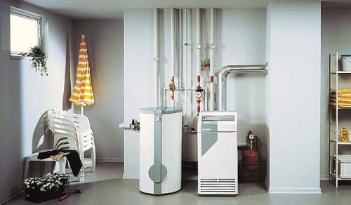Газовый и электрический котел для отопления коттеджа