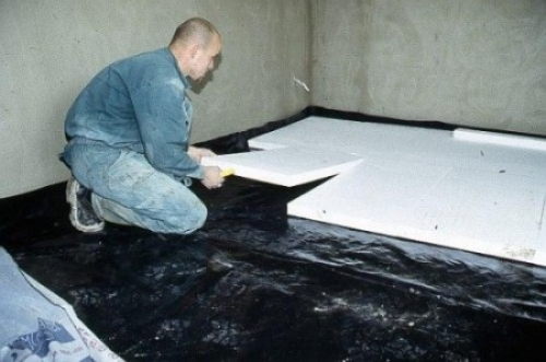 Гидроизоляция и теплоизоляция бетонного пола