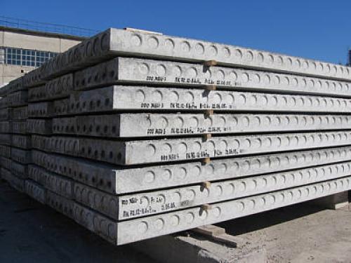 Хранение бетонных плит