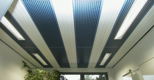 Инфракрасные потолочные панели