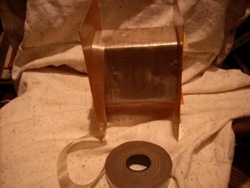 Изоляция каркаса сварочного трансформатора