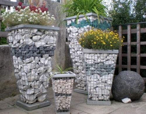 Камни для габионных конструкций
