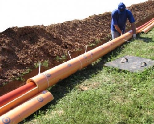Монтаж канализационных труб ПВХ - теплоизоляция