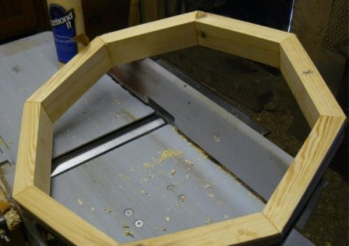 Деревянный кофейный столик своими руками - подстолье