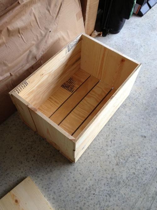 Кофейный столик «ящики» из фанеры - готовый ящик