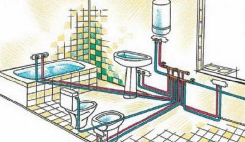 Коллекторная разводка труб водопровода в частном доме