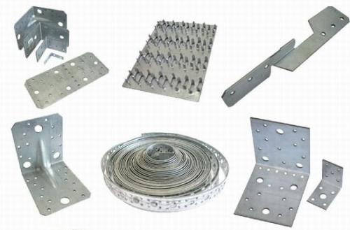 Крепежные элементы стропильной конструкции