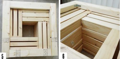 Кофейный деревянный столик из ящиков своими руками - установка стола на каркас