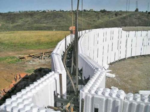 Криволинейное монолитное строительство