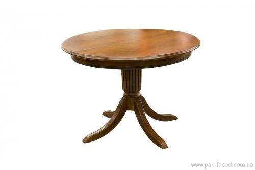 Столы кухонные деревянные круглые - на доной ножке