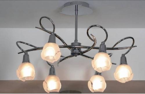 Люстры для натяжных потолков с лампами накаливания