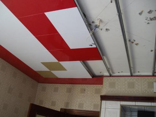 Монтаж кассетного потолка с закрытой системой