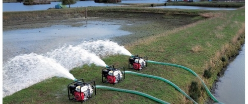 Моторизированный помповый насос для воды