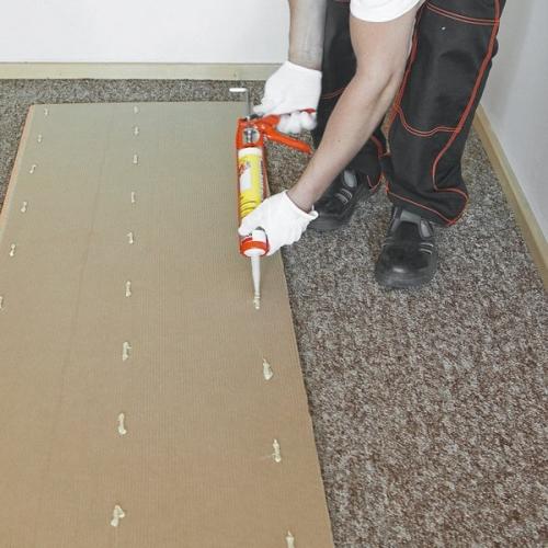 Монтаж стеновых панелей на жидкие гвозди