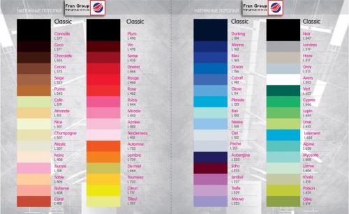 Цветовые решения натяжных потолков из ПВХ пленки