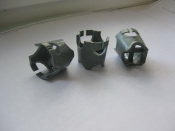 Пластмассовые фиксаторы под нижнюю сетку армирования монолитной плиты