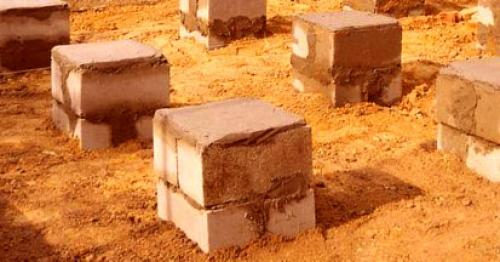 Фундамент под блок-контейнер