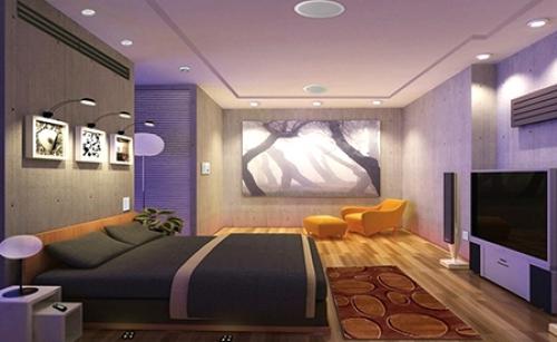 Дистанционное управление освещением в квартире с многоуровневым освещением