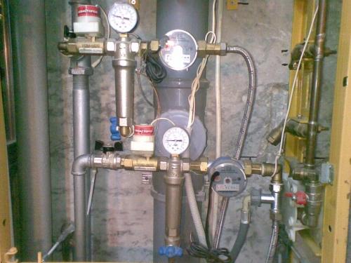 Водопровод из оцинкованной стали