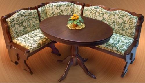 Столы обеденные овальные деревянные для мягкого уголка