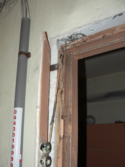 Снятие дверного полотна старой двери