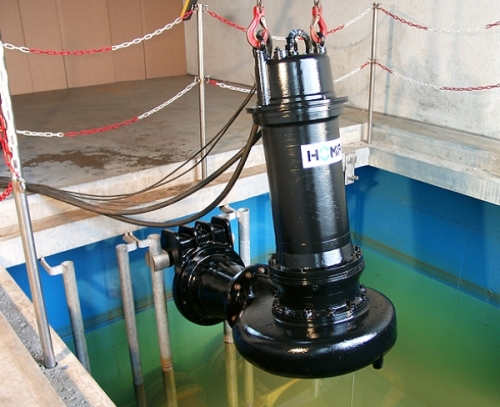 Погружной канализационный насос (фекальный)