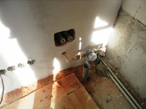 Установка счетчиков воды в частном доме