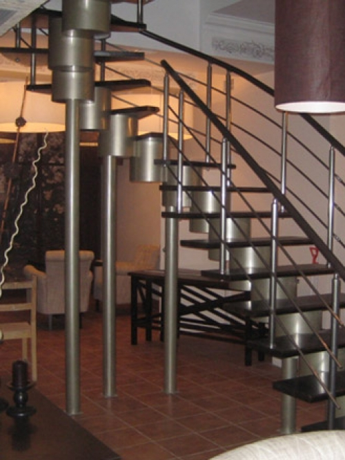 Модульная лестница Премиум