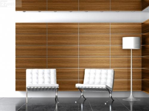 Отделка стен декоративными панелями