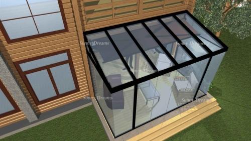 Проект террасы к дому