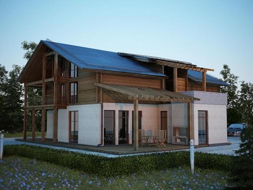 Проект крыши частного дома 1