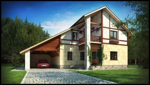 Проект крыши частного дома 3
