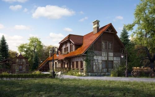 Проект крыши частного дома 4