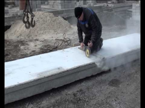 Разрезание плиты поперек/по ширине