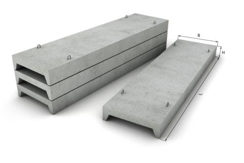 Железобетонные плиты перекрытия ребристые