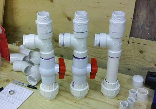Монтаж внутренней канализации коттеджа