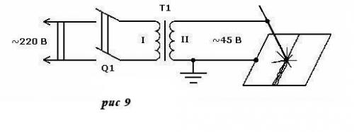 Простой дуговой сварочный трансформатор