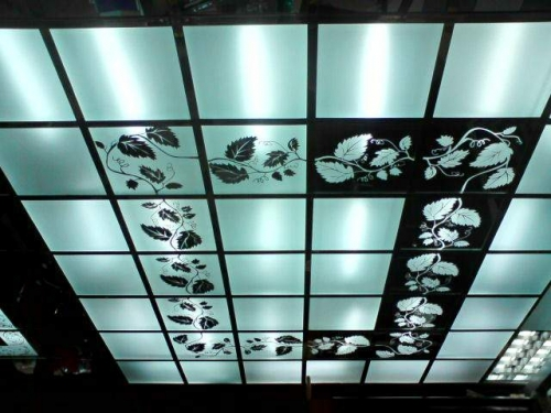 Стеклянные потолки 3