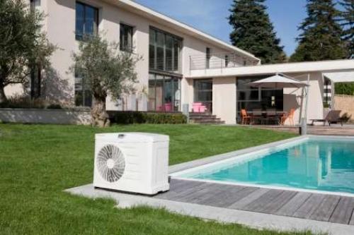 Тепловой насос для подогрева воды в бассейне
