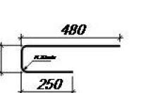 Торцевой фиксатор для армирования монолитной плиты перекрытия