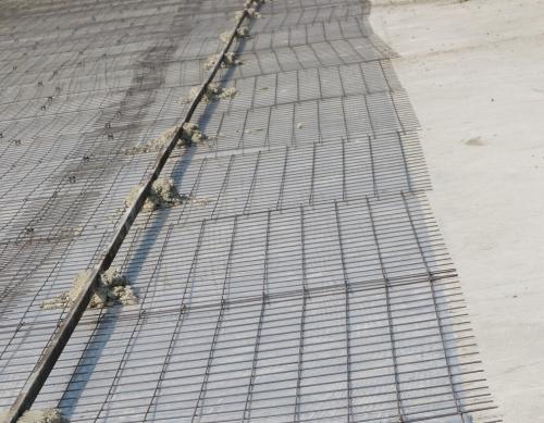 Установка направляющих для бетонного пола